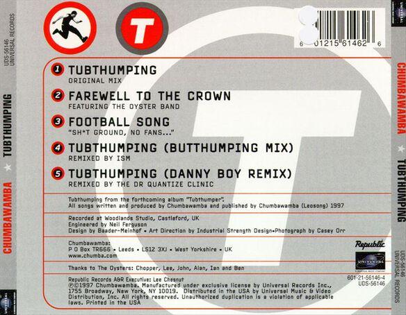 Tubthumping 897