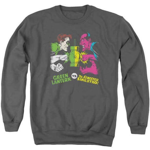 Dc Gl Vs Sinestro Adult Crewneck Sweatshirt