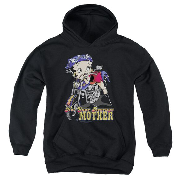 Betty Boop Not Your Average Mother Youth Pull Over Hoodie