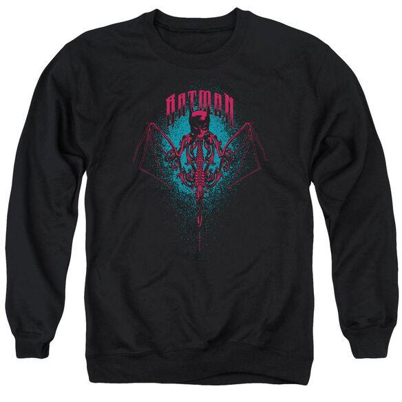 Batman Carpe Nocturn Adult Crewneck Sweatshirt