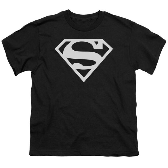 Superman Logo Short Sleeve Youth T-Shirt