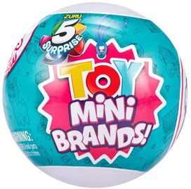 Zuru 5 Surprise Mini Brands! TOY Mystery Pack Series 1