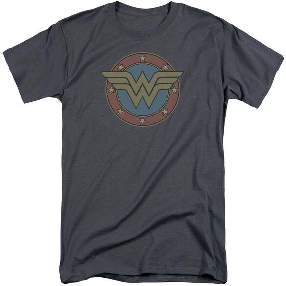 Dc Ww Vintage Emblem Short Sleeve Adult Tall T-Shirt