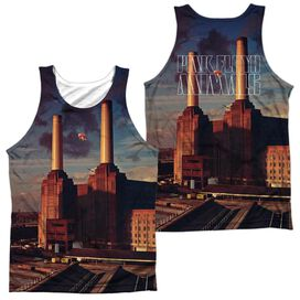 Pink Floyd Animals (Front Back Print) Adult Poly Tank Top
