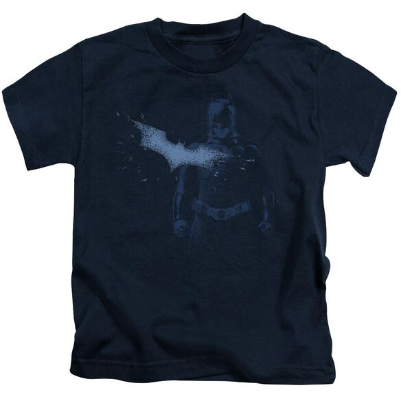 Dark Knight Static Short Sleeve Juvenile Navy T-Shirt