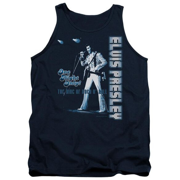 Elvis One Night Only Adult Tank