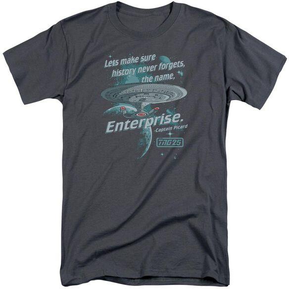 Star Trek Never Forget Short Sleeve Adult Tall T-Shirt