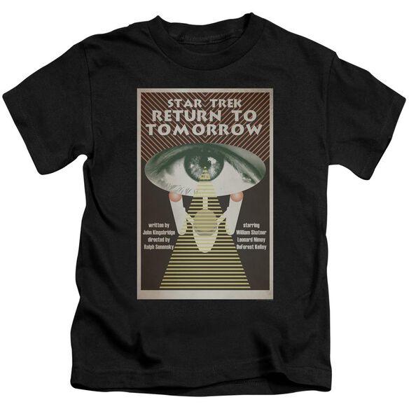 Star Trek Tos Episode 49 Short Sleeve Juvenile Black T-Shirt