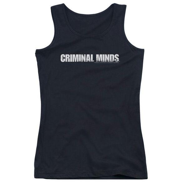 Criminal Minds Logo - Juniors Tank Top