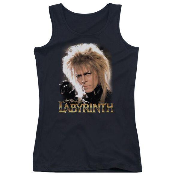 Labyrinth Jareth Juniors Tank Top