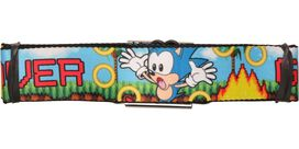 Sonic the Hedgehog Game Over Seatbelt Belt