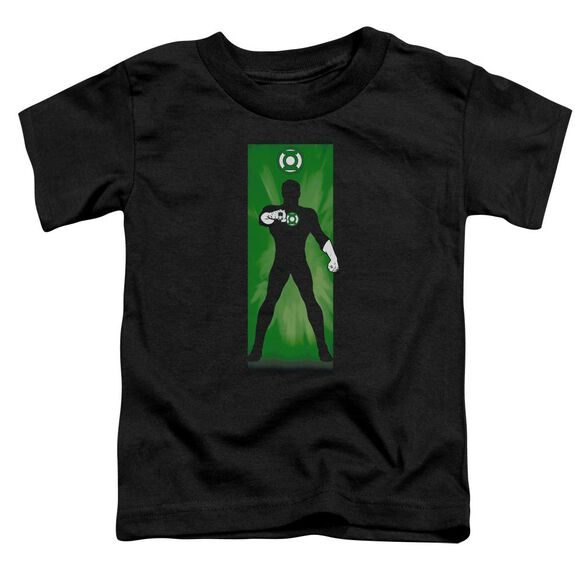 Dc Green Lantern Block Short Sleeve Toddler Tee Black T-Shirt