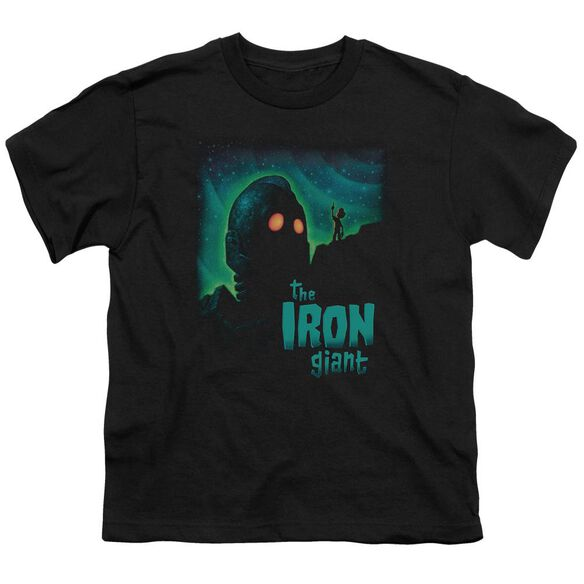 Iron Giant Look To The Stars Short Sleeve Youth T-Shirt