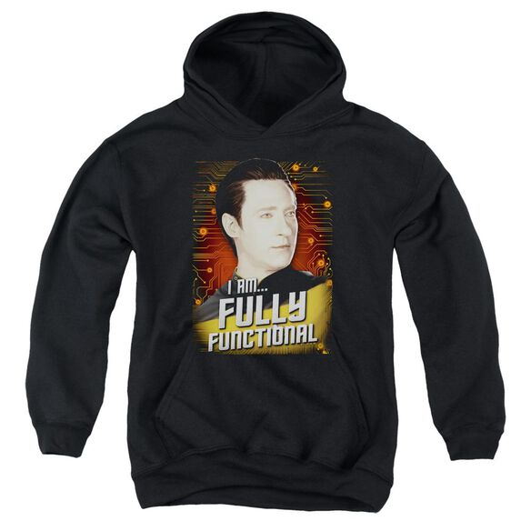 Star Trek Fully Functional Youth Pull Over Hoodie