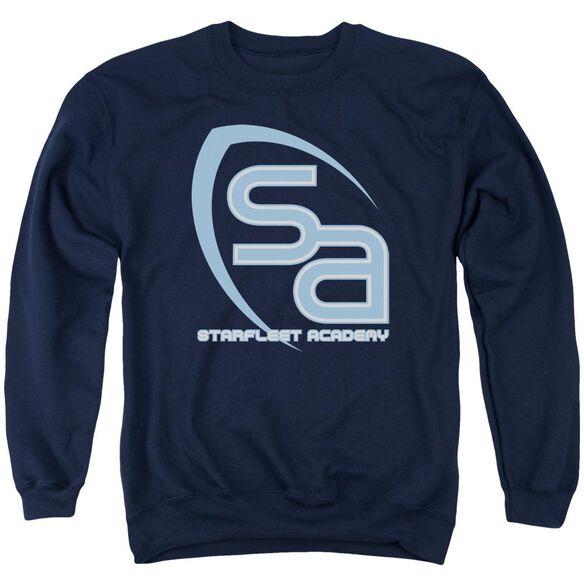 Star Trek Sa Logo Adult Crewneck Sweatshirt