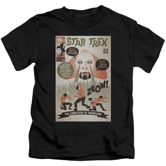 Star Trek Tos Episode 45 Short Sleeve Juvenile Black T-Shirt
