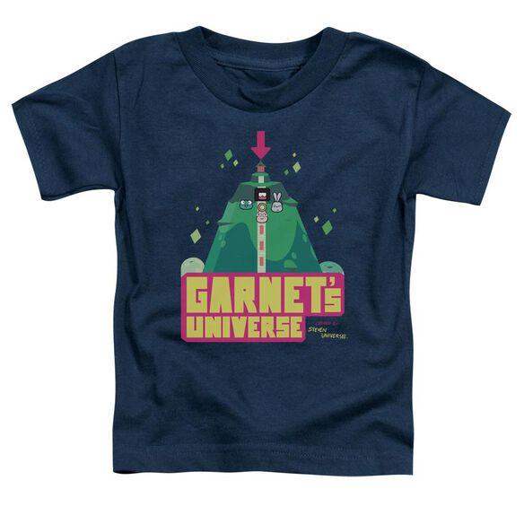 Steven Universe Garnet's Universe Short Sleeve Toddler Tee Navy T-Shirt