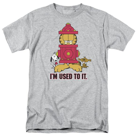 GARFIELD IM USED TO IT - S/S ADULT 18/1 - ATHLETIC HEATHER T-Shirt