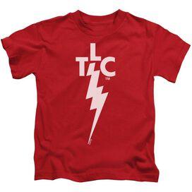 ELVIS PRESLEY TLC LOGO - S/S JUVENILE 18/1 - RED - T-Shirt