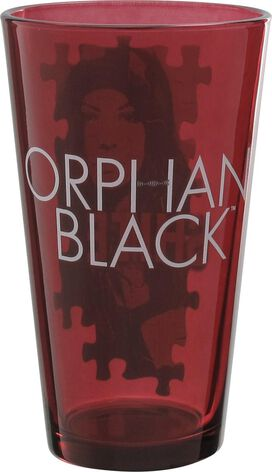 Orphan Black Shite Puzzle Pint Glass