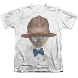 Pets Rock Purrell Adult Poly Cotton Short Sleeve Tee T-Shirt