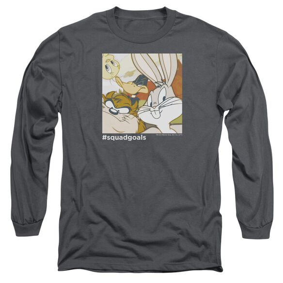 Looney Tunes Squad Goals Long Sleeve Adult T-Shirt