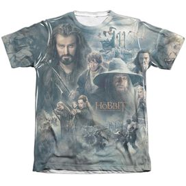 Hobbit Epic Poster Adult Poly Cotton Short Sleeve Tee T-Shirt