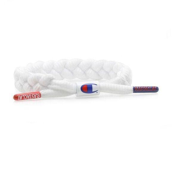 Rastaclat Braided Bracelet [Champion White]