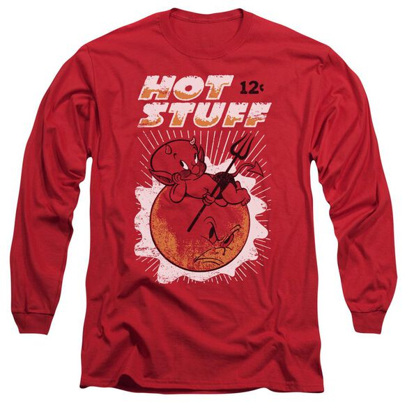 Hot Stuff On The Sun Long Sleeve Adult T-Shirt