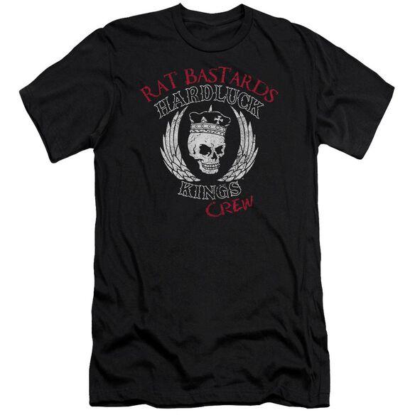 Hardluck Kings Rat Bastards Logo Short Sleeve Adult T-Shirt
