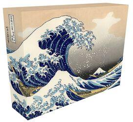 "Great Wave of Kanagawa Box Art 7.5""x6.5"""