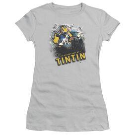 Tintin Breakthrough Short Sleeve Junior Sheer T-Shirt