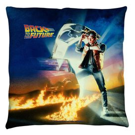 Back To The Future Bttf Poster Throw