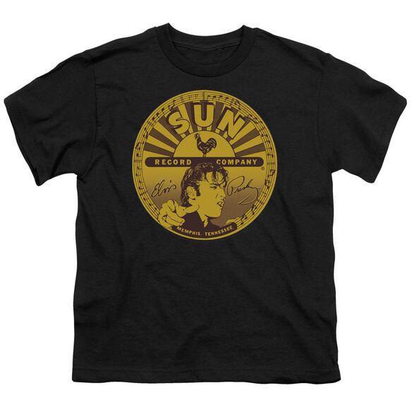 Sun Elvis Full Sun Label Short Sleeve Youth T-Shirt