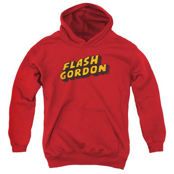 Flash Gordon Logo Youth Pull Over Hoodie