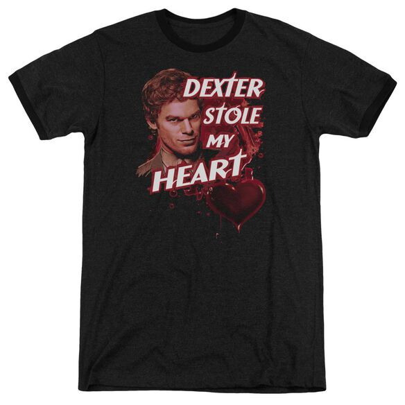 Dexter Bloody Heart Adult Heather Ringer