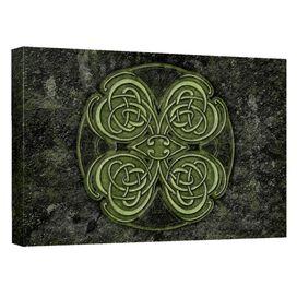 Celtic Clover Quickpro Artwrap Back Board