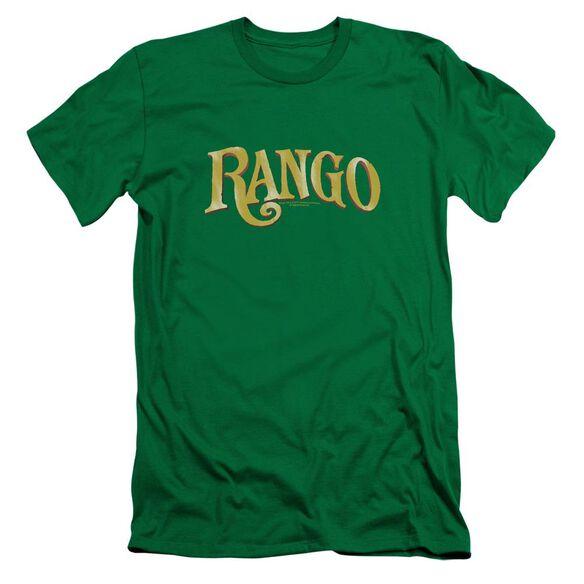 Rango Logo Short Sleeve Adult Kelly T-Shirt