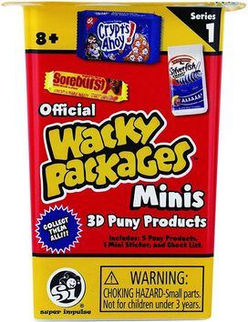 World's Smallest Wacky Packages Minis Mystery Pack