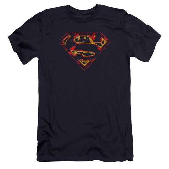 Superman Super Distressed Premuim Canvas Adult Slim Fit