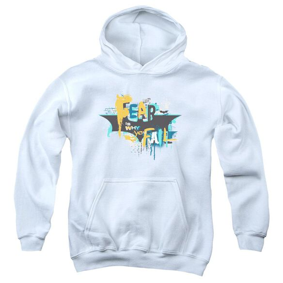Dark Knight Rises No Fear Youth Pull Over Hoodie