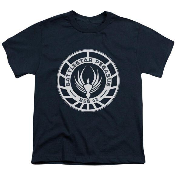 BSG PEGASUS BADGE - S/S YOUTH 18/1 T-Shirt