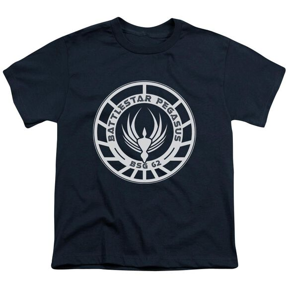 Bsg Pegasus Badge Short Sleeve Youth T-Shirt