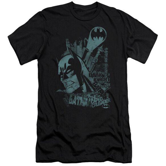 Batman Gritted Teeth Short Sleeve Adult T-Shirt