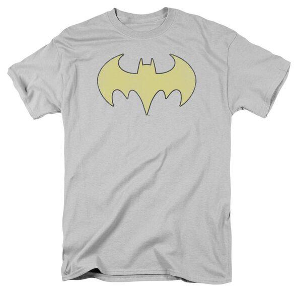 Dc Batgirl Logo Distressed Short Sleeve Adult T-Shirt