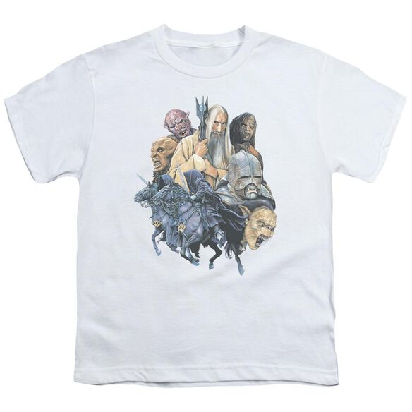 Lor Collage Of Evil Short Sleeve Youth T-Shirt