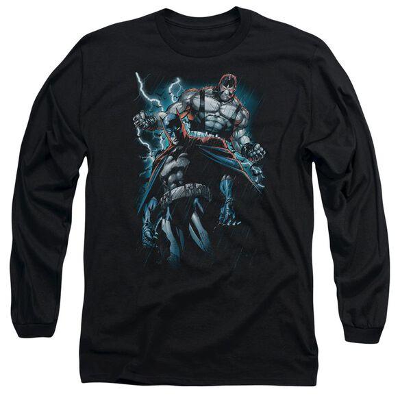 Batman Evil Rising Long Sleeve Adult T-Shirt