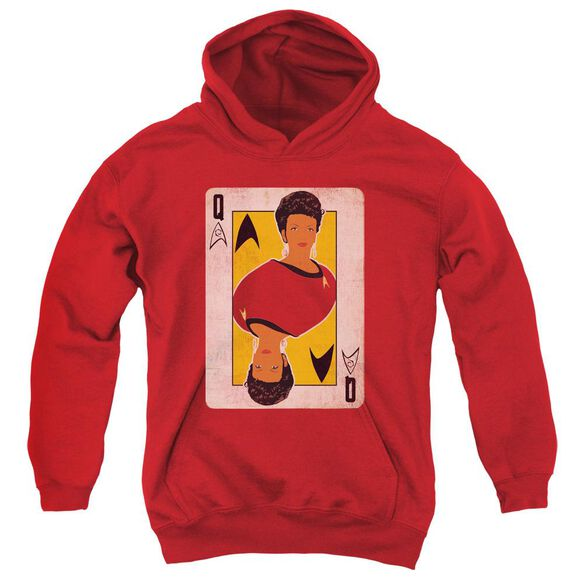 Star Trek Tos Queen Youth Pull Over Hoodie