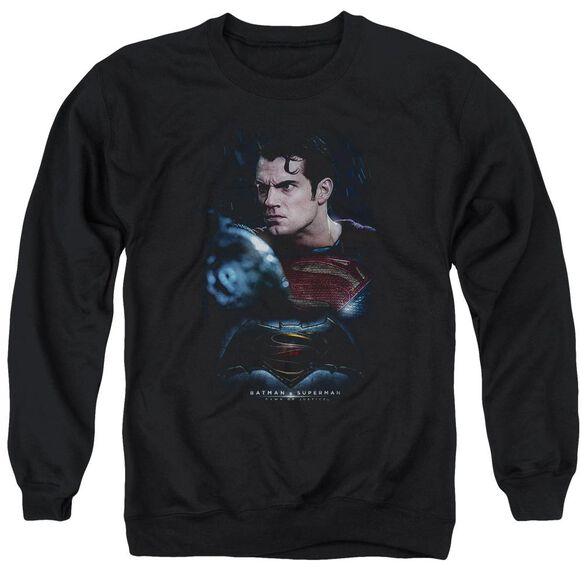 Batman V Superman Super Angry Adult Crewneck Sweatshirt