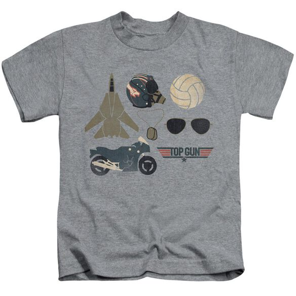 Top Gun Items Short Sleeve Juvenile Athletic T-Shirt